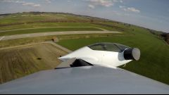 Lilium Aviation jet: ripresa dall'ala