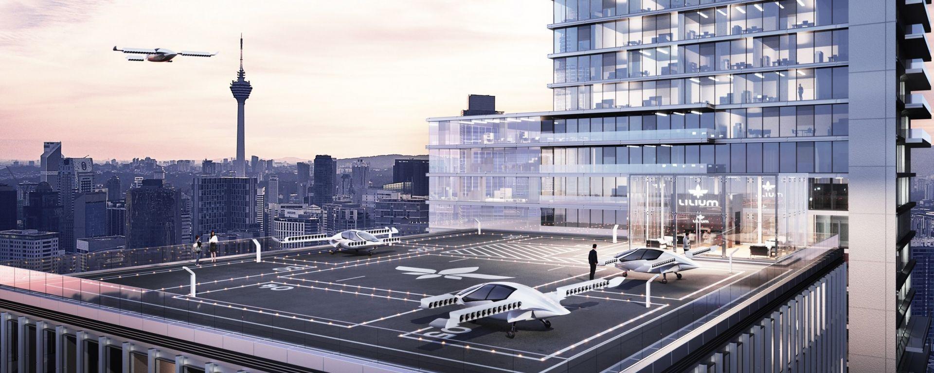 Lilium Aviation: l'obiettivo è creare un servizio di taxi volanti