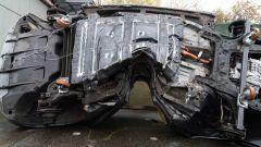 L'impressionante crash test di Nissan Leaf: e la batteria?