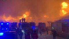 L'incendio divampato al Top Mountain Motorcycles Musem