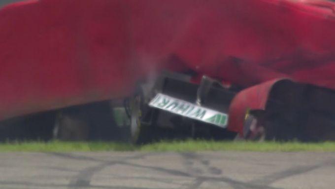 L'incidente di Simo Laaksonen in F3