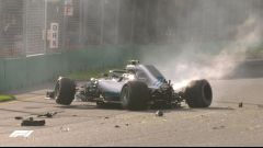 L'incidente di Valtteri Bottas in Q3