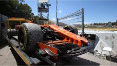 L'incidente tra McLaren di Vandoorne e la Williams di Massa ha causato la Virtual Safety Car