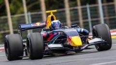 Lindsey Vonn in un test su una Formula Renault 3.5 nel 2016 al Red Bull Ring di Spielberg
