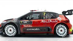 Linea compatta e aggressiva per la Citroen C3 WRC