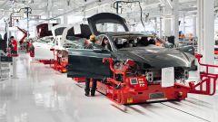 Linea di produzione Tesla