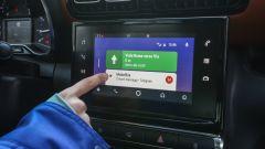 L'infotainment della Citroen C3 Aircross