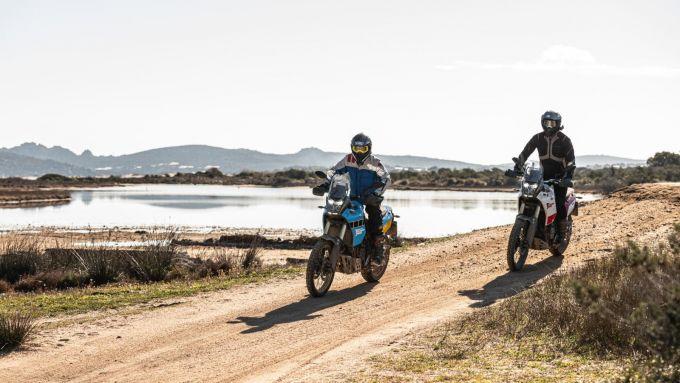 L'isola di Culuccia, in Sardegna, punto di arrivo dell'esperienza Yamaha