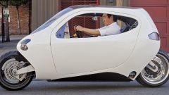 Lit-Motors C1, la speciale moto dell'azienda che potrebbe essere acquisita da Apple