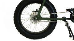 Lithium Cycles Super 73 Scout: dettaglio del mozzo posteriore