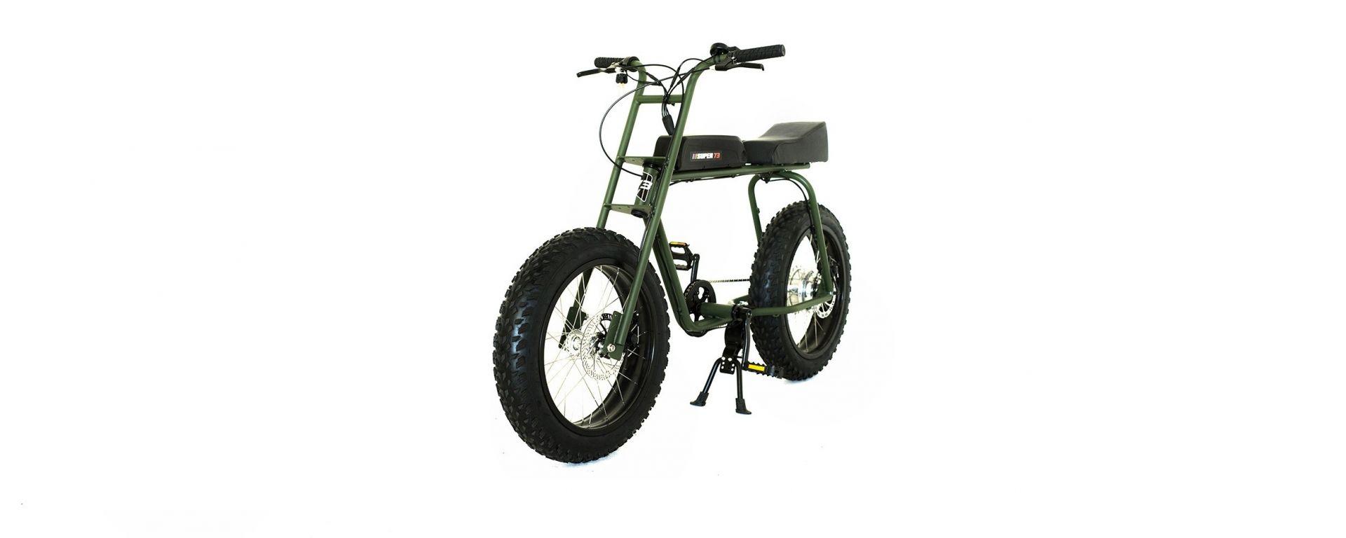 Lithium Cycles Super 73 Scout: vista 3/4 anteriore