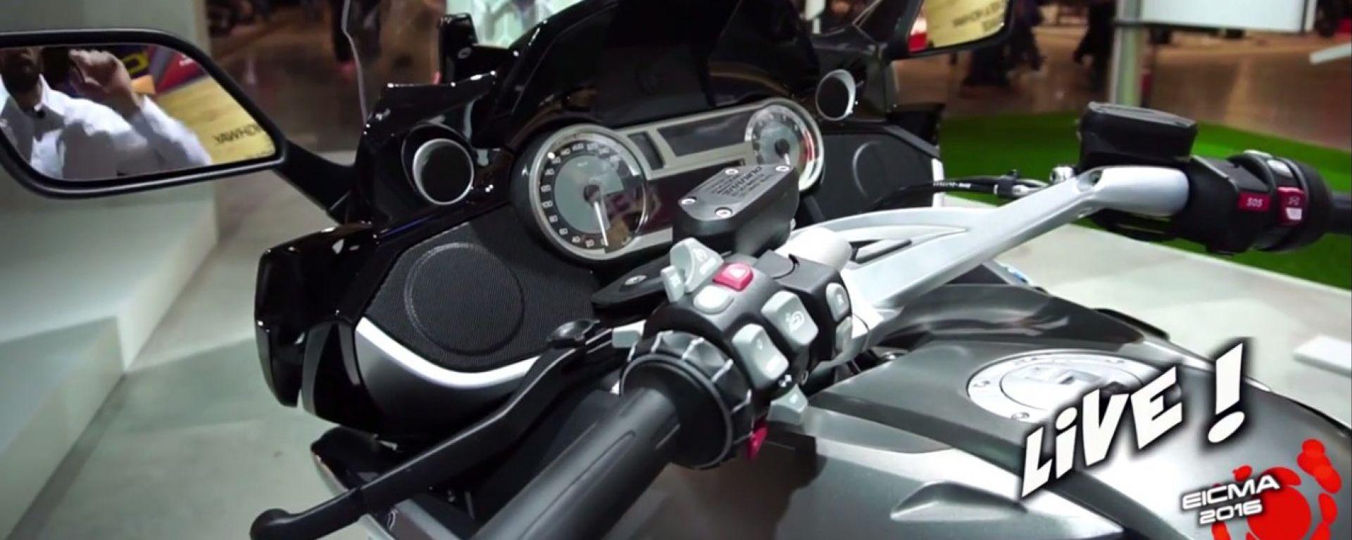 Live Eicma 2016: BMW K1600 GTL 2017 in video