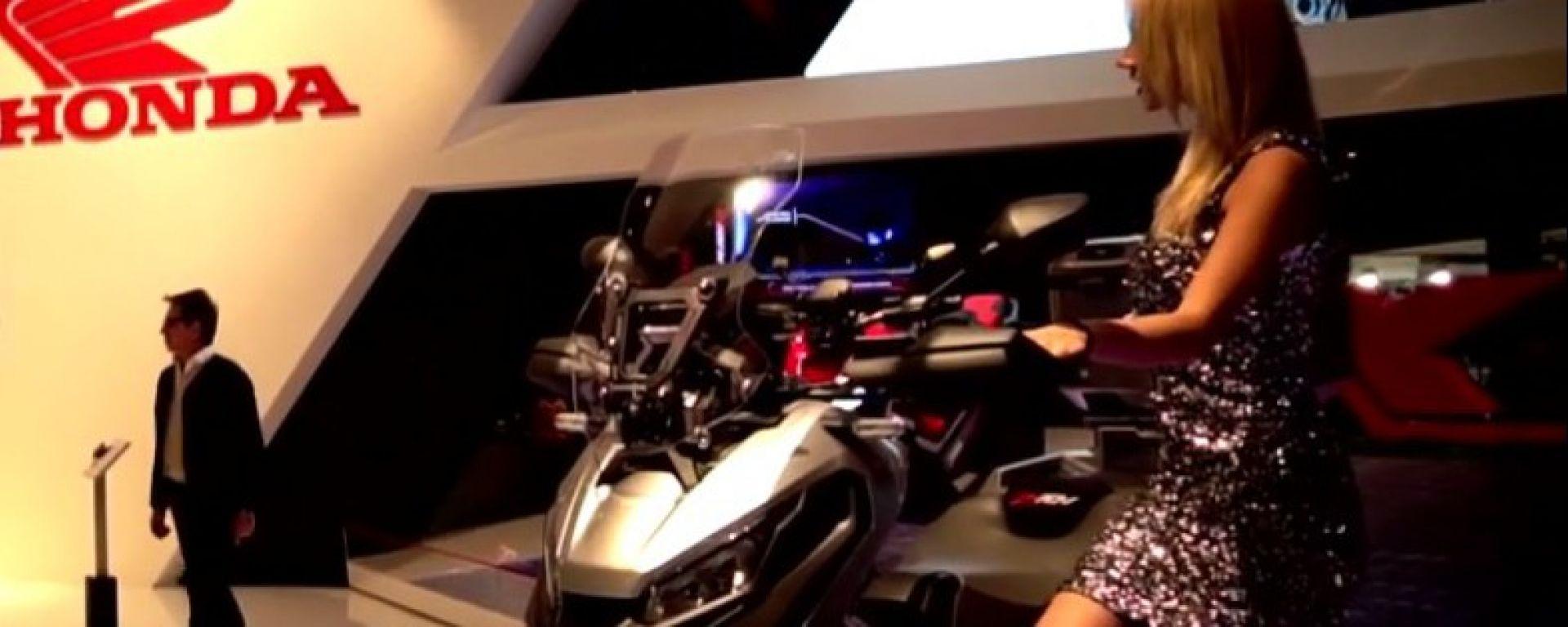 Live Eicma 2016: Honda X-ADV in video