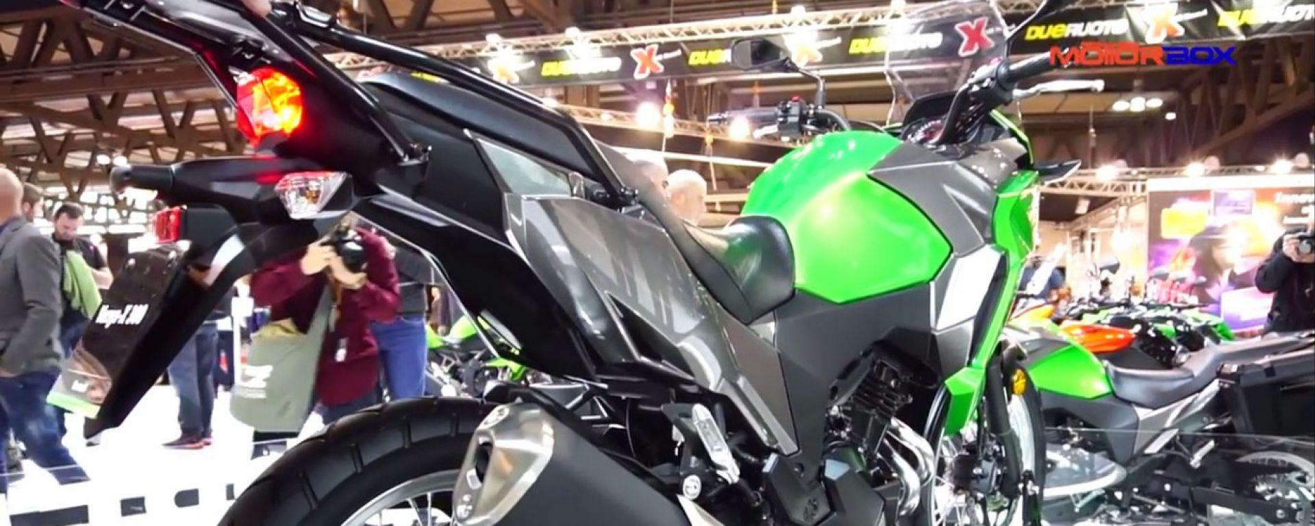 Live Eicma 2016: Kawasaki Versys-X 300 in video