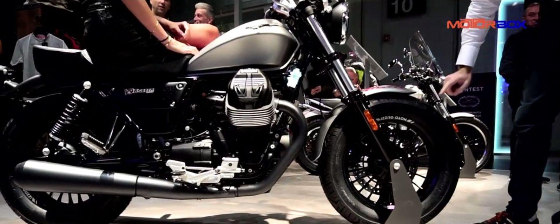 Live Eicma 2016: Moto Guzzi V9 Bobber e V9 Romer in video