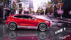 Live Parigi 2016: BMW Concept X2 in video - Immagine: 1