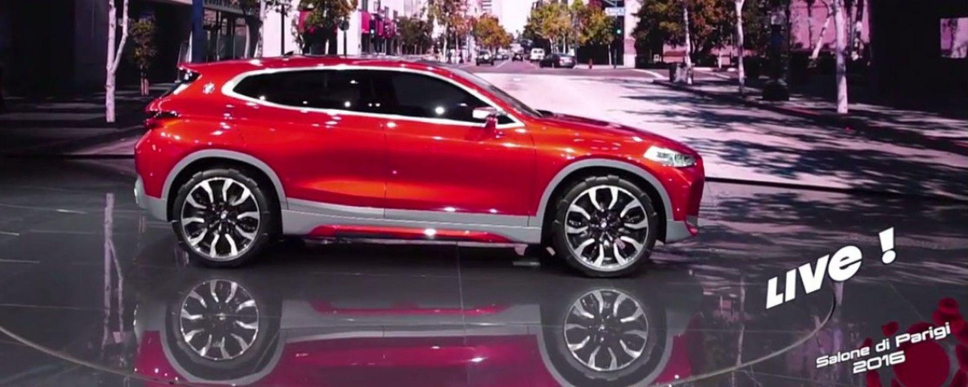 Live Parigi 2016: BMW Concept X2 in video