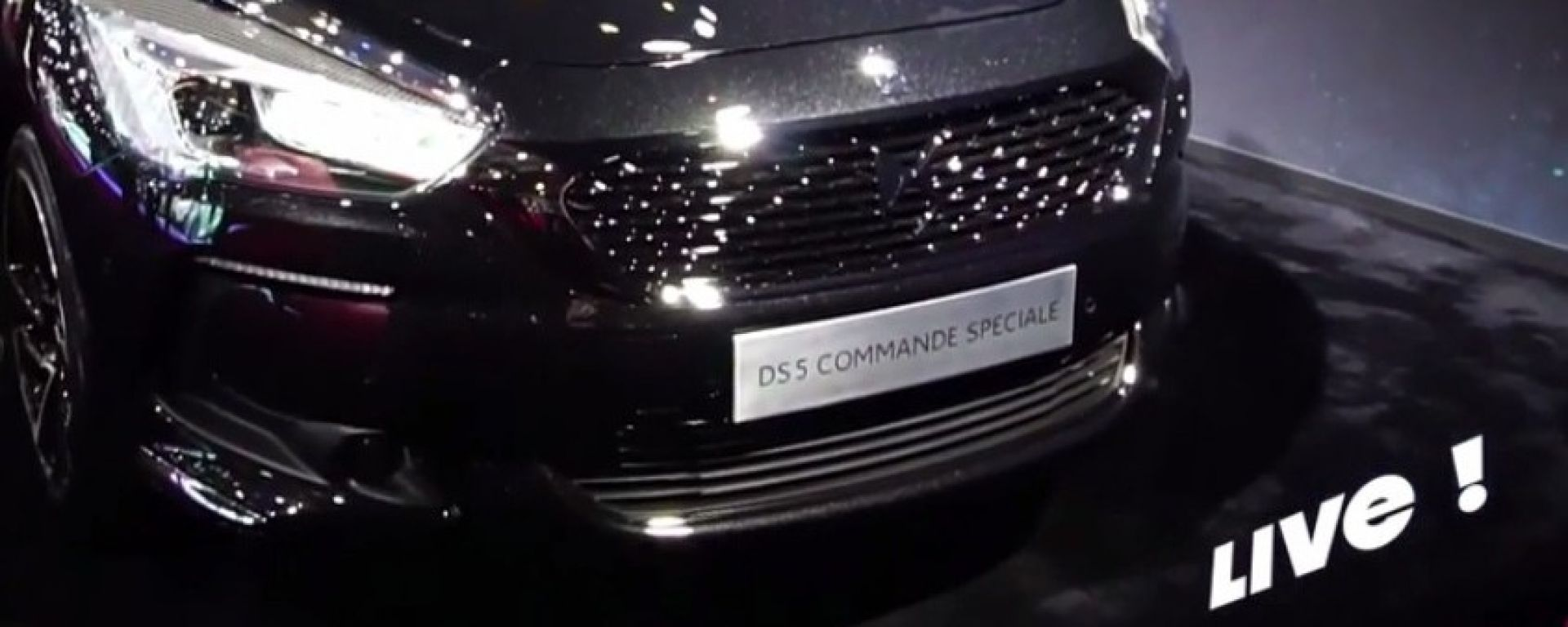 Live Parigi 2016: DS 5 Commande Speciale in video