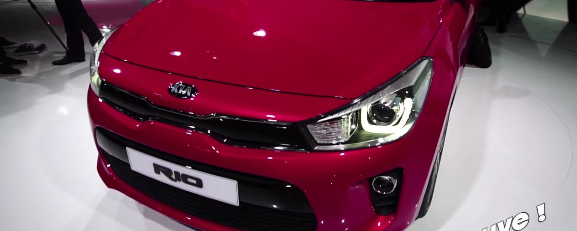 Live Parigi 2016: Kia Rio, Carens e Soul 2017 in video