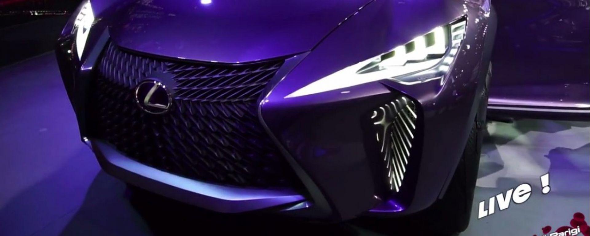 Live Parigi 2016: Lexus UX concept in video