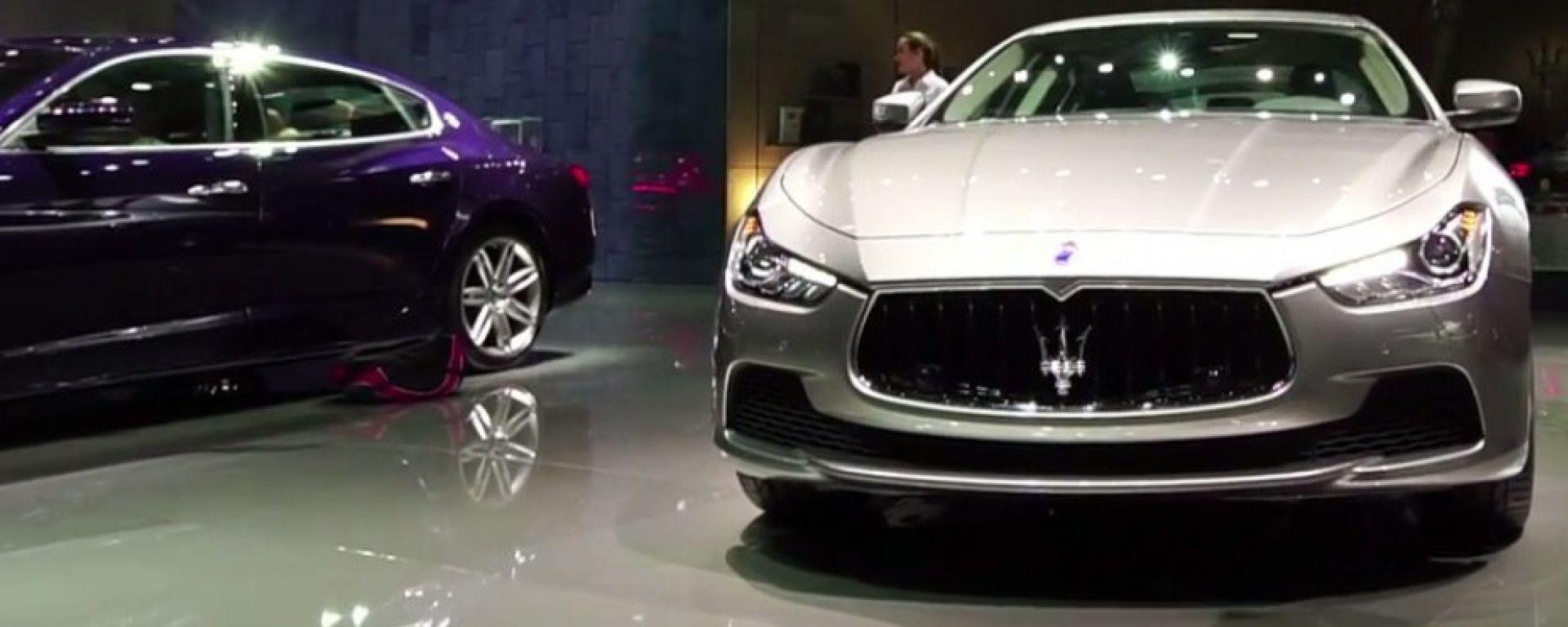 Live Parigi 2016: Maserati Ghibli MY 2017 in video
