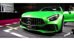 Live Parigi 2016: Mercedes AMG GT R ed EQ Concept in video - Immagine: 1