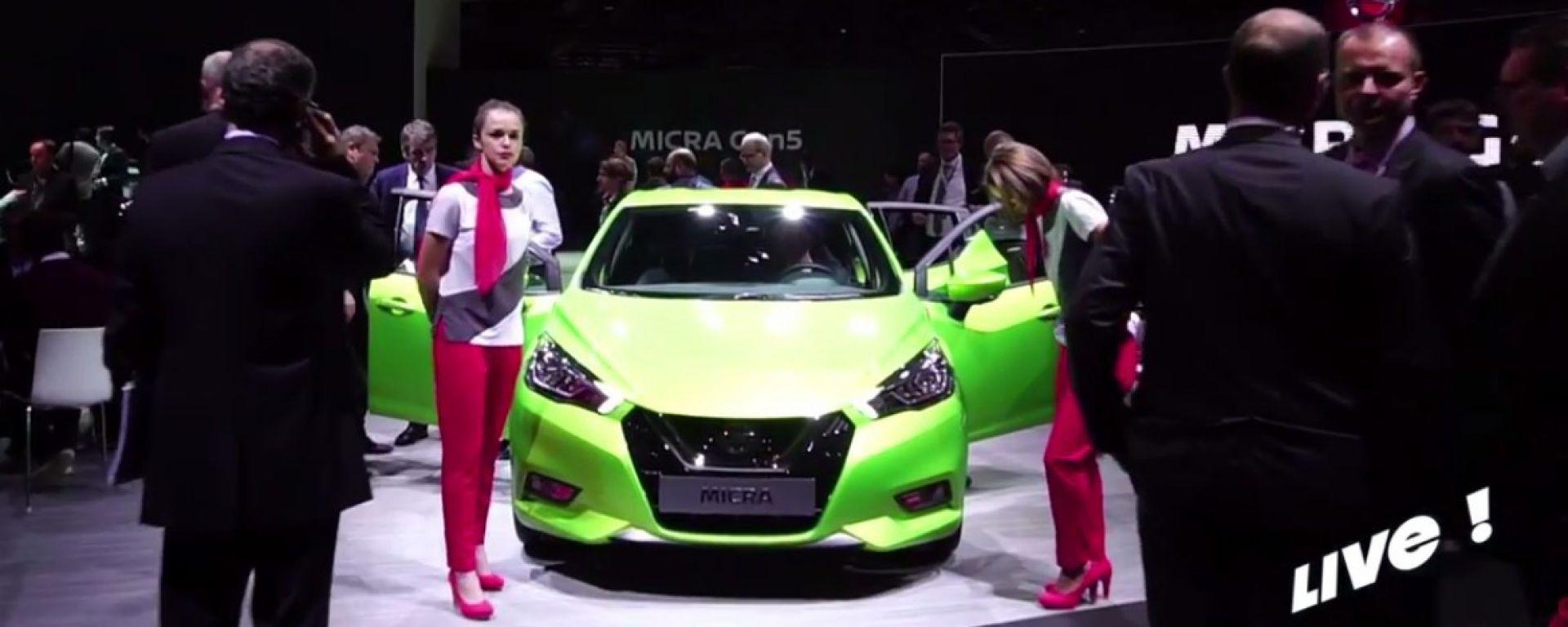 Live Parigi 2016: Nissan Micra 2017 in video