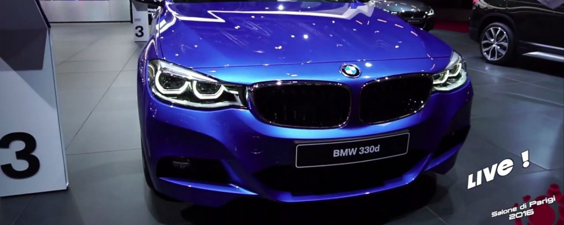 Live Parigi 2016: Nuova BMW Serie 3 GT e i3 2017 in video