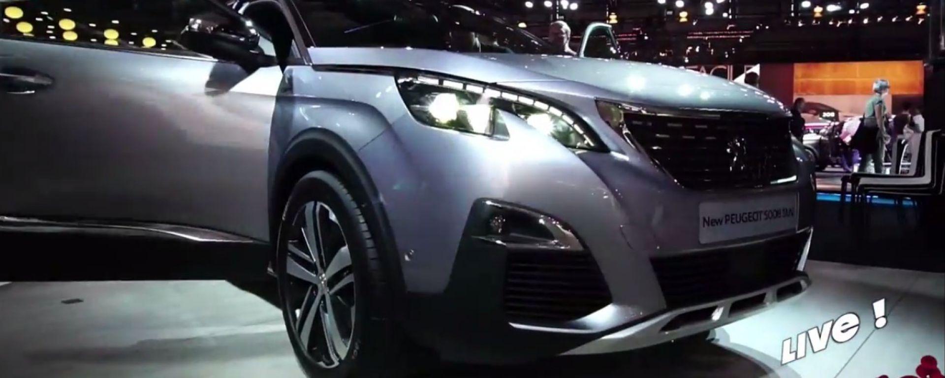 Live Parigi 2016: Peugeot 5008 e 3008 GT
