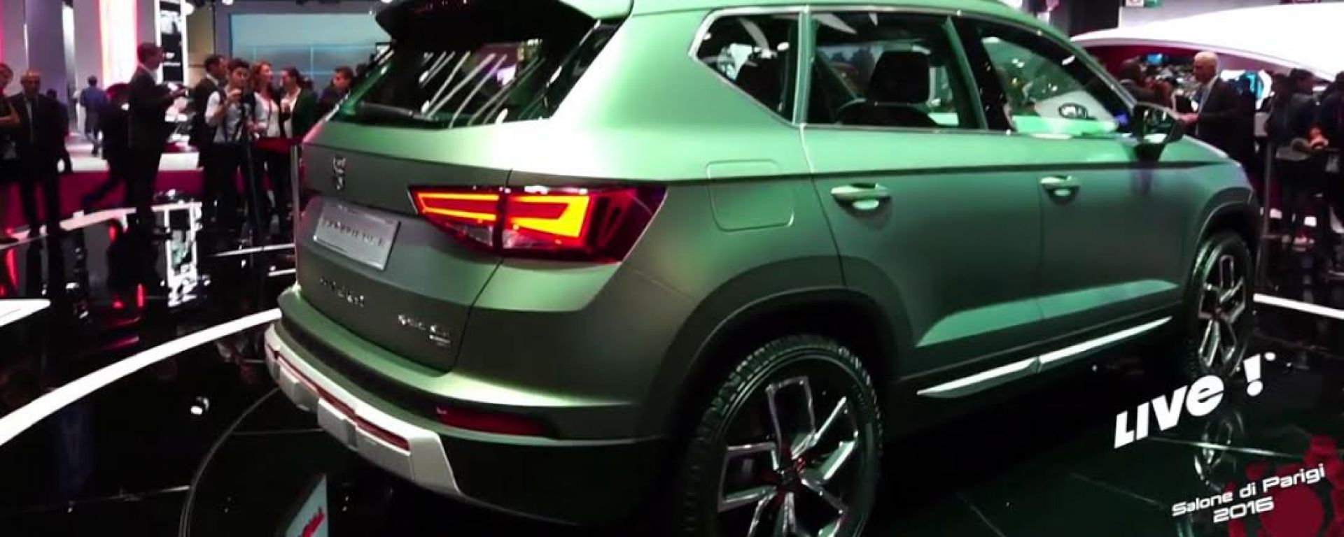 Live Parigi 2016: Seat Ateca X-Perience in video