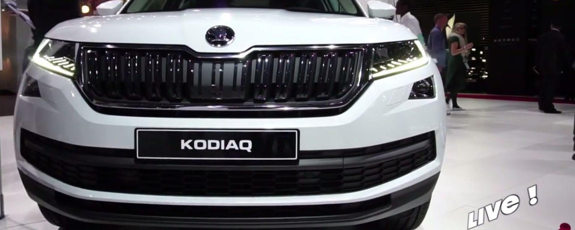 Live Parigi 2016: Skoda Kodiaq in video
