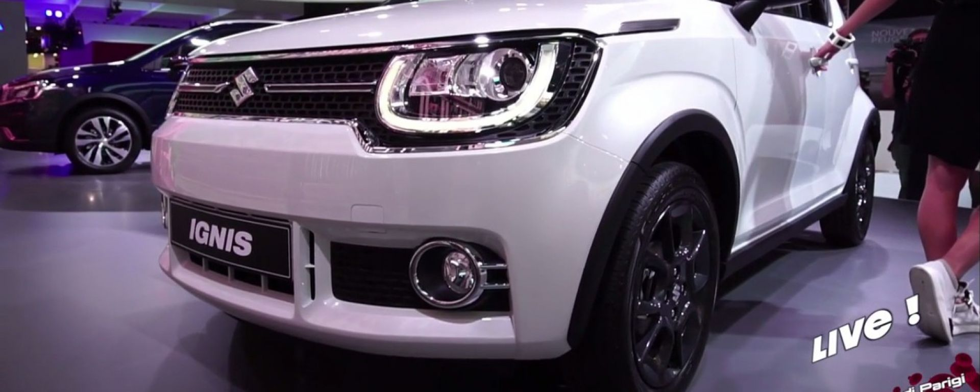 Live Parigi 2016: Suzuki Ignis 2017 in video