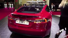 Live Parigi 2016: Tesla Model S P100D e Autopilot 8 in video - Immagine: 1