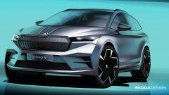 Skoda Enyaq iV: la presentazione del SUV elettrico in diretta video - Immagine: 1