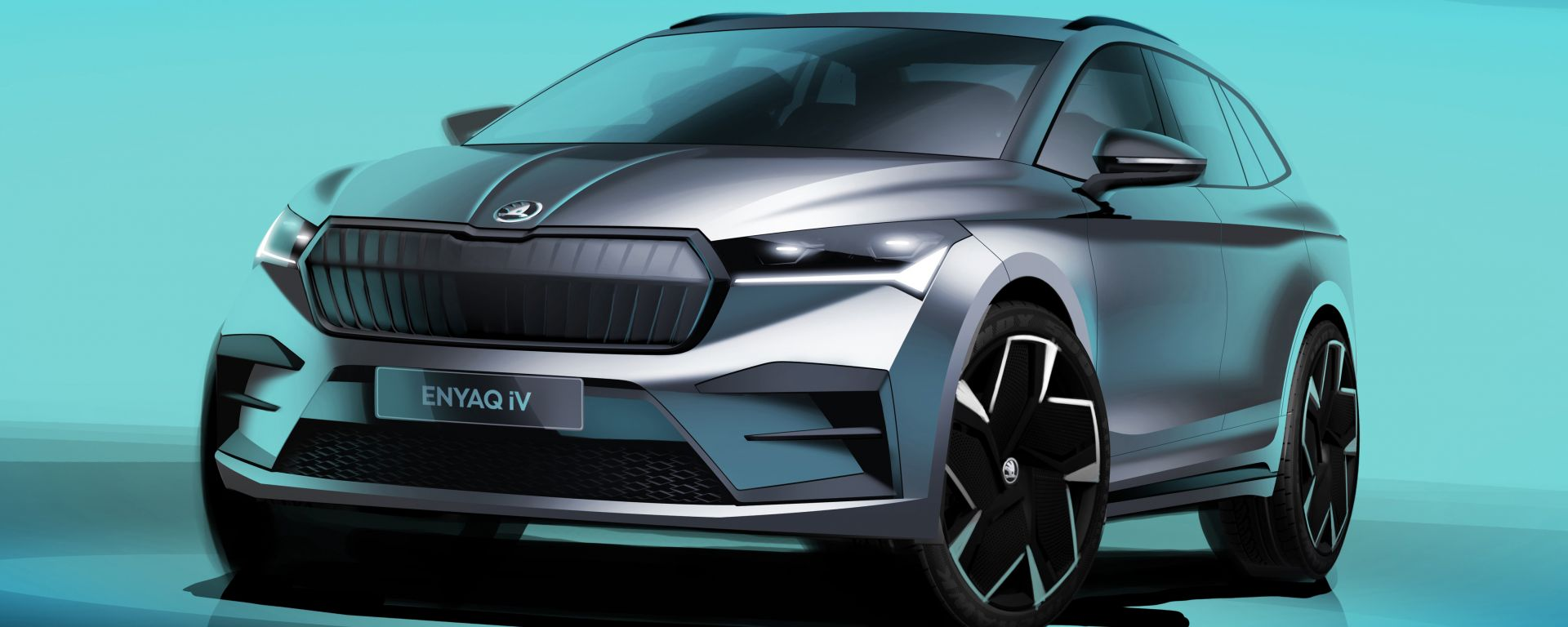 Skoda Enyaq iV: la presentazione del SUV elettrico in diretta video