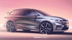 Skoda Enyaq iV: la presentazione del SUV elettrico in diretta video - Immagine: 2