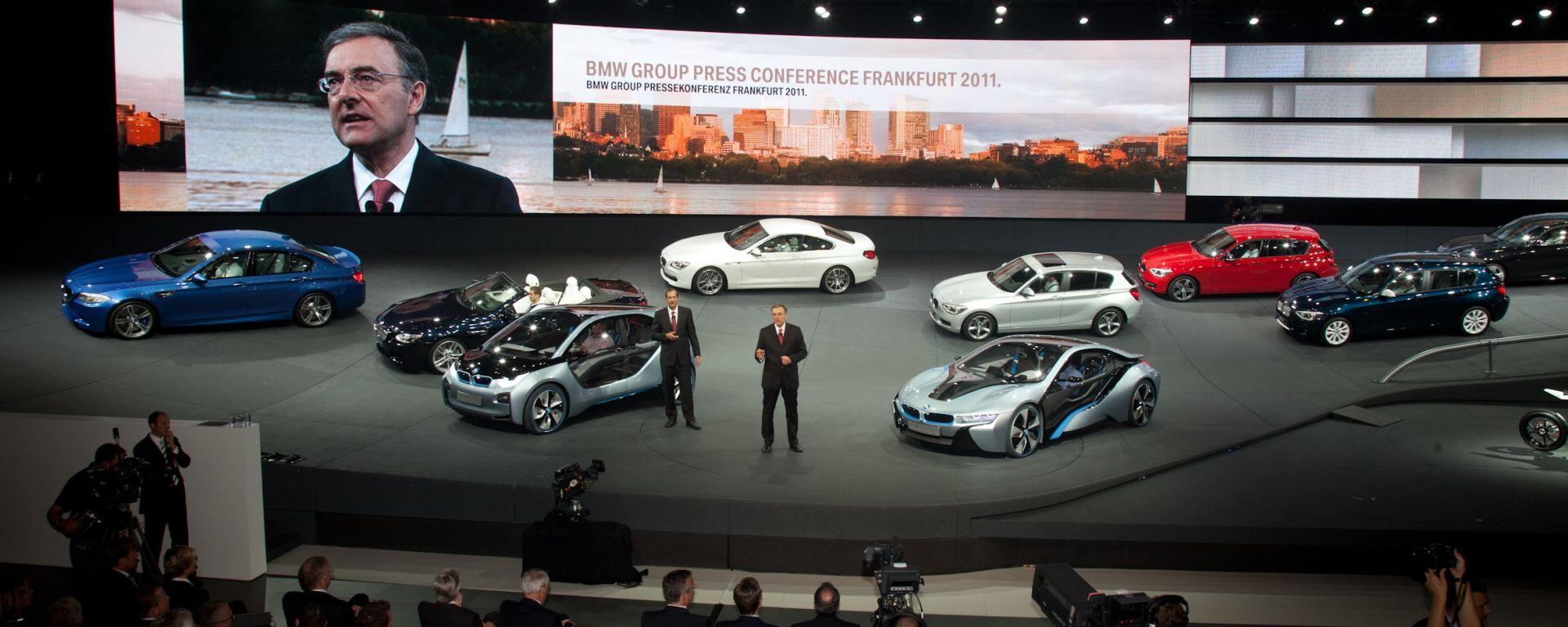 Francoforte IAA 2011: Bmw i3 e i8, Serie 1 e M5 2012