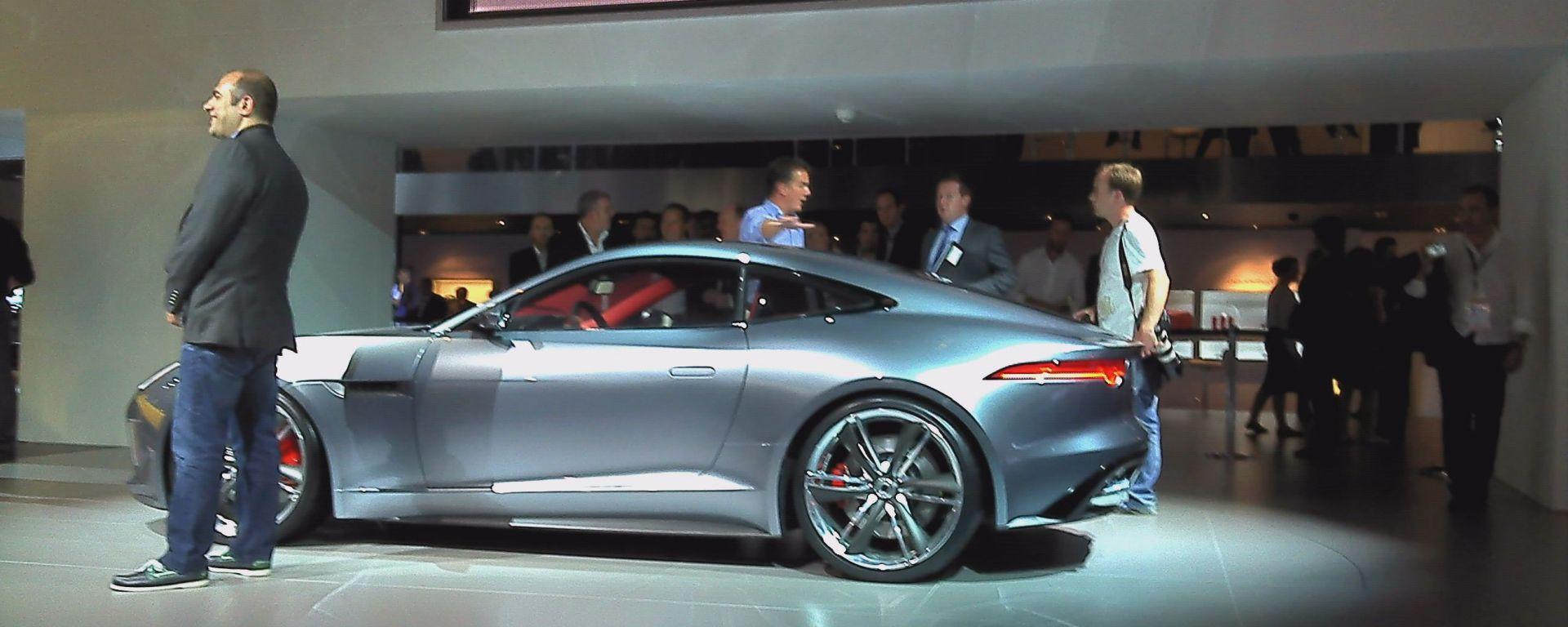 Francoforte IAA 2011: Jaguar C-X16 Concept
