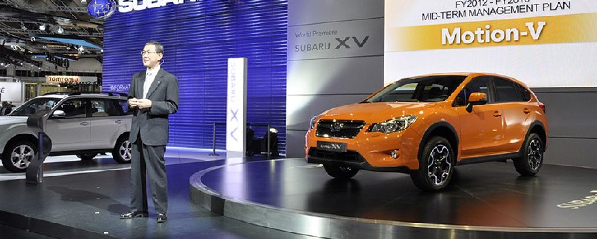 Francoforte IAA 2011: Subaru XV