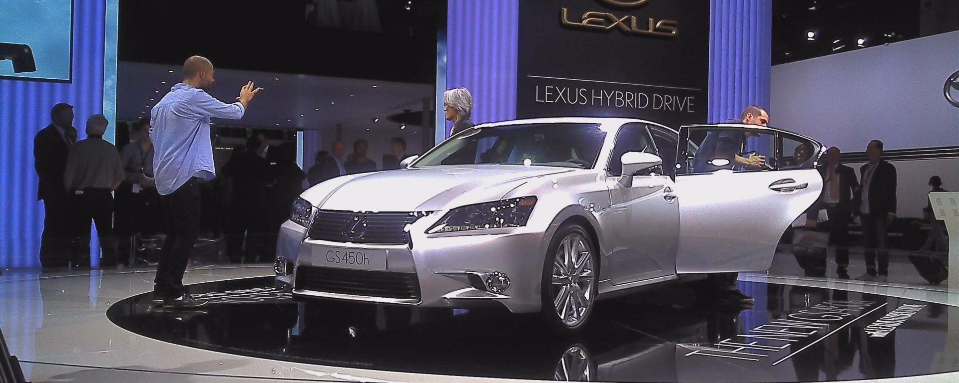 Francoforte IAA 2011: Lexus GS 2012