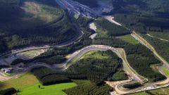 llcircuito di Spa-Francorchamps nel layout odierno