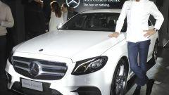 Lo chef Stefano Oldani e la nuova Mercedes Classe E
