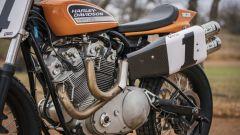 Lo scarico della Harley-Davidson XR-750R