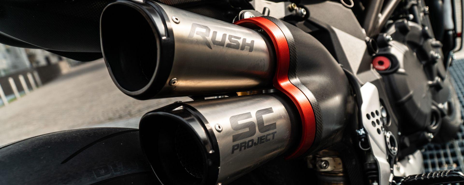 Lo scarico SC Project per la MV Agusta Rush 1000