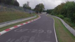 Lo screenshot che rivela il tempo al Nurburgring