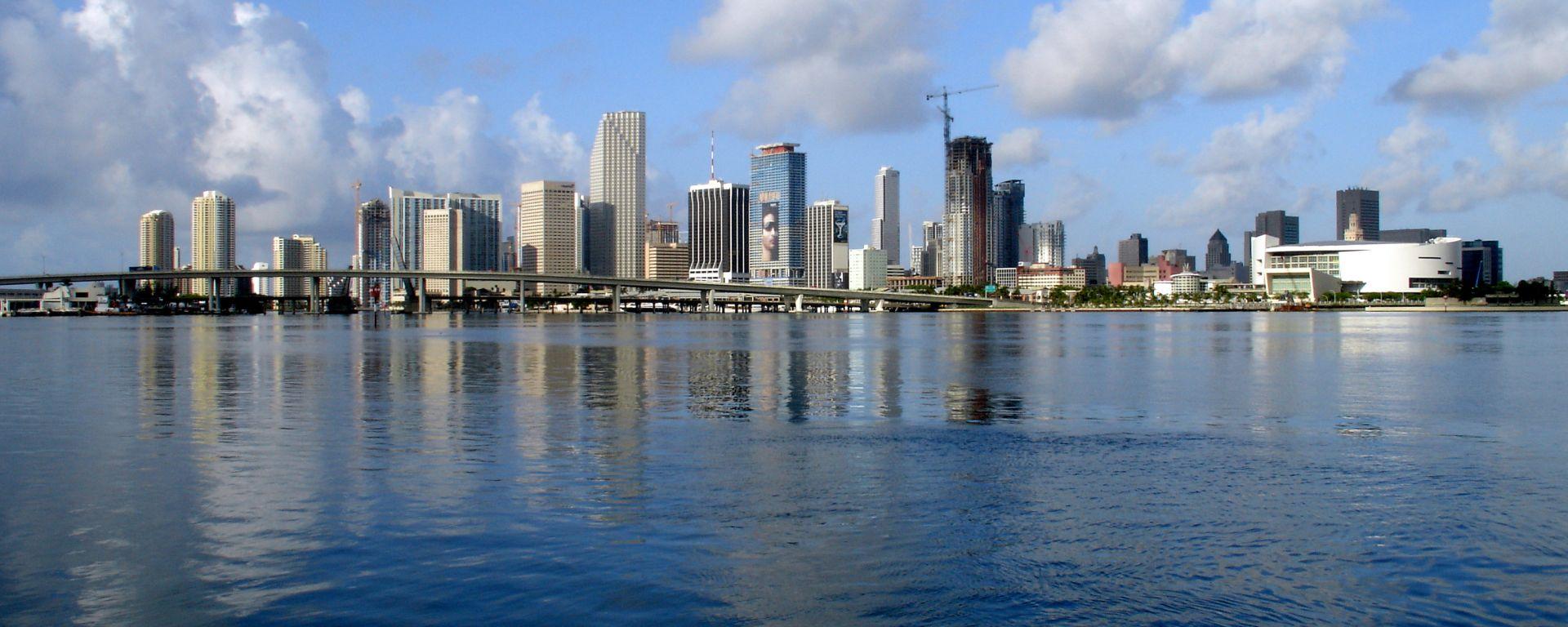 Lo skyline della città di Miami, Florida | Foto: Wikipedia