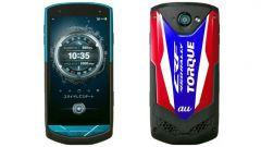 Lo smartphone Kyocera Torque G002 nei colori Honda ufficiali