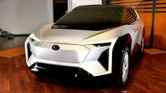 Lo spigoloso concept della Subaru elettrica