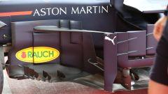 Lo sponsor Aston Martin sul fianco della Red Bull