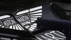 Lo sponsor Aston Martin sull'ala della Red Bull